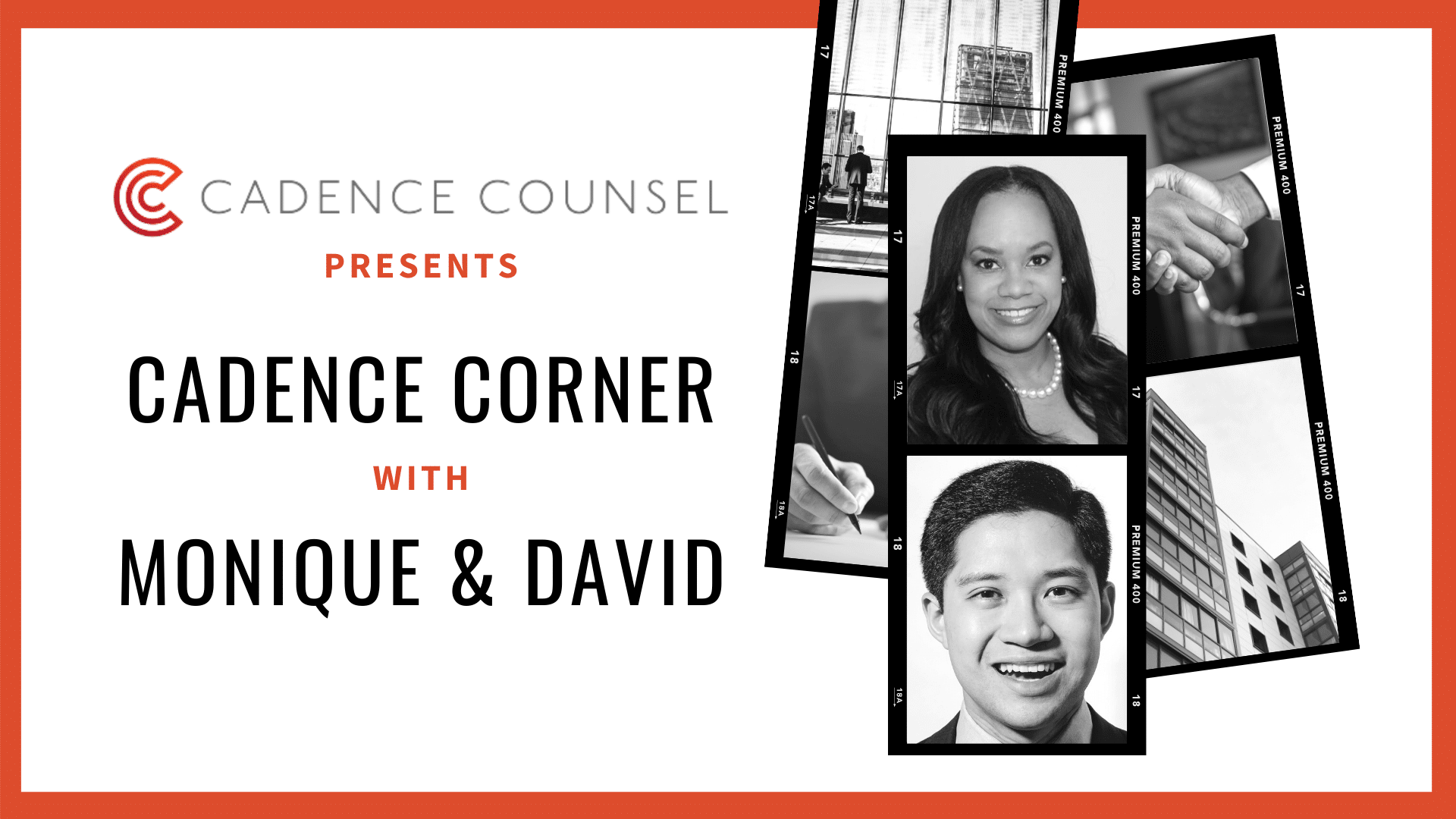 Cadence Corner with Monique & David